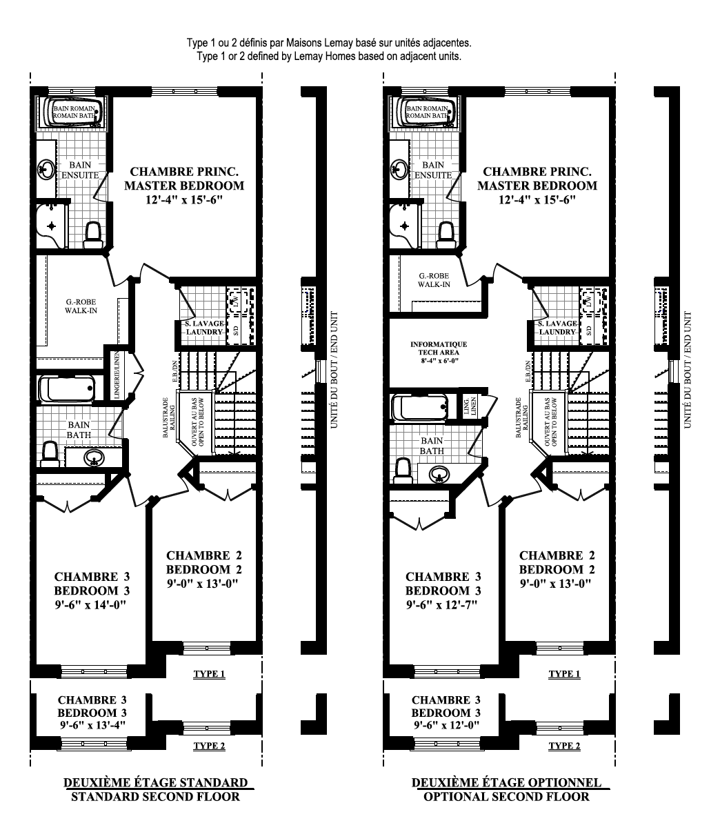Lotus Second Floor Floorplan